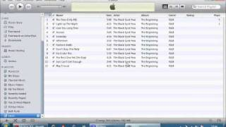 How To Make Playlist's In ITunes And Transfer To IPod
