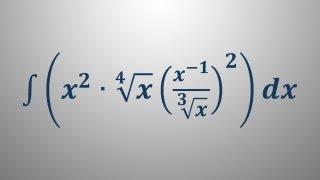 Nedoločeni integral 7