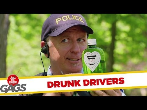 Drinking and Driving Prank - Inni és vezetni