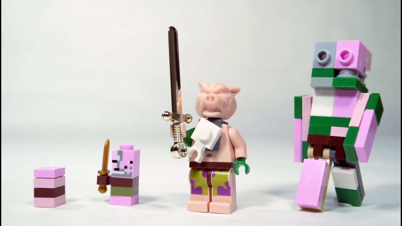 How to build a lego zombie