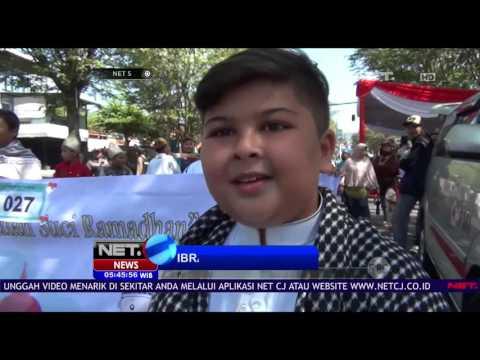Ribuan Pelajar di Malang Pawai Keliling Kota Menyambut Ramadhan NET5