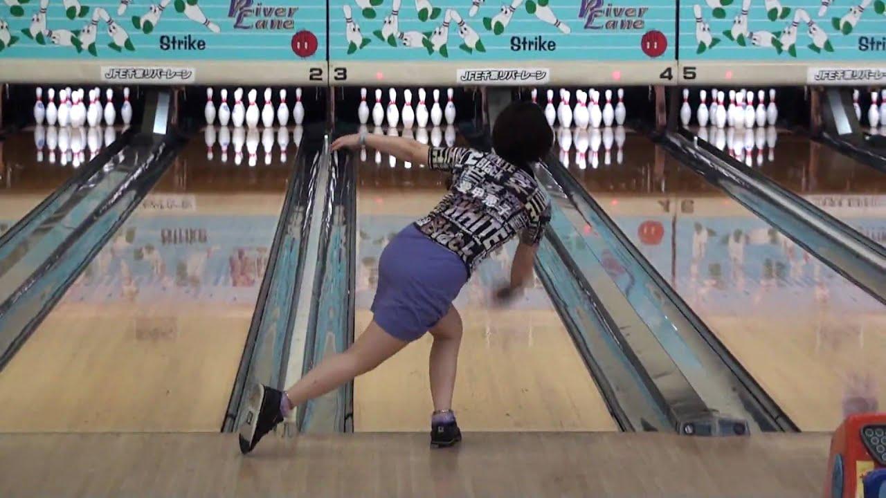 BowlingTarrow 愛甲恵子プロのボウリング・フォーム(2010千葉女子オープン) Bo