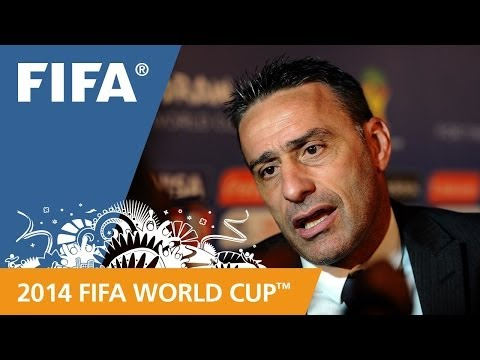 Portugal's Paulo BENTO Final Draw reaction (Portuguese)