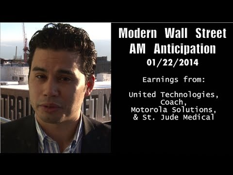 Modern Wall Street AM Anticipation: January 22, 2014
