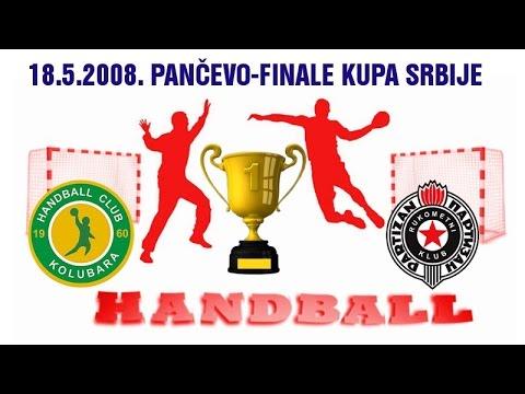 RK Kolubara – RK Partizan (Finale Kupa Srbije 2008)