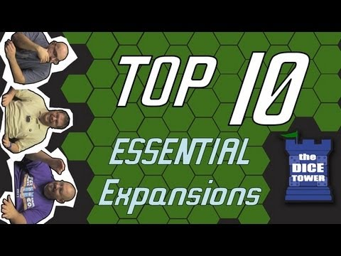 Top Ten Essential Game Expansions