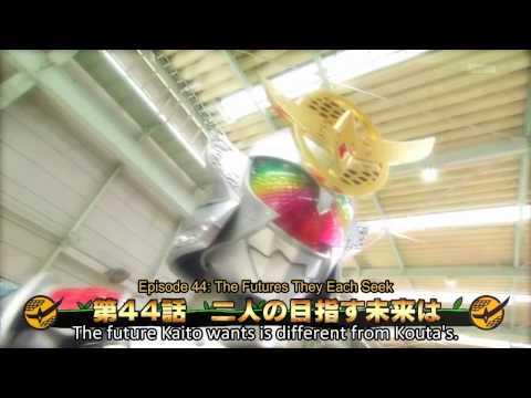Kamen Rider Gaim Ep 44 (Subs Preview) The Future They Each Seek
