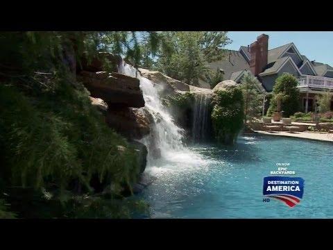 Epic backyards twin creek farms oklahoma city youtube for Epic pool show
