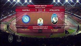 TIM Cup l'Atalanta supera il Napoli e va in semifinale