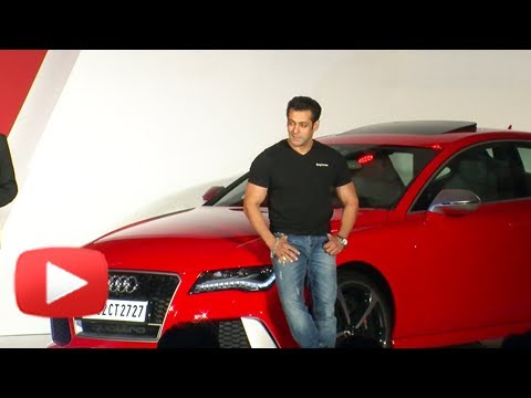 Salman Khan Unveils The Most Powerful Audi Car In India