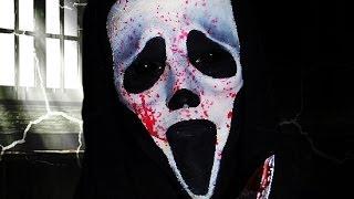 Scream Ghost Face Makeup Tutorial!