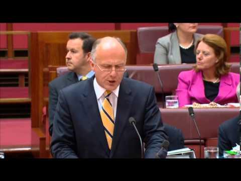 Speech to the Senate on the Green Labor Alliance's blocking of key legislation