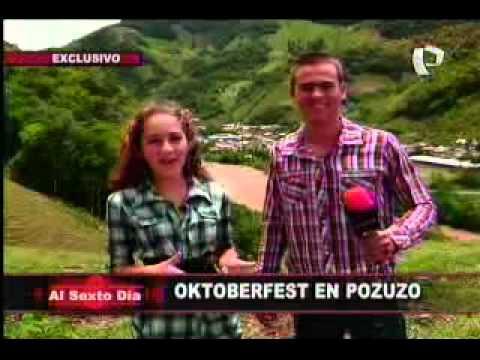 Al Sexto Día llega a Pozuzo para el festival Oktoberfest