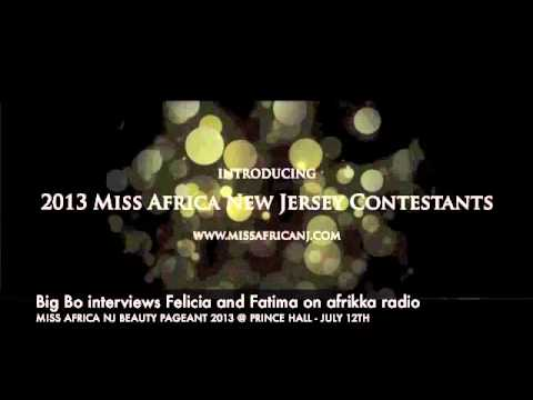 Big Bo from afrikka radio interviews felicia (ghana) and fatoumata (ivory coast)