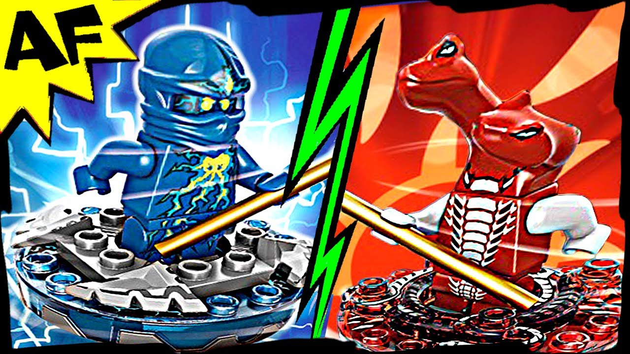 Nrg jay vs fangdam lego ninjago spinjitzu battle stop motion set review 9570 9571 youtube - Ninjago vs ninjago ...