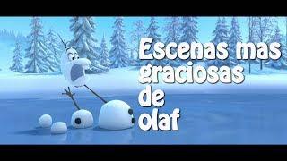 Escenas Mas Graciosas De Olaf