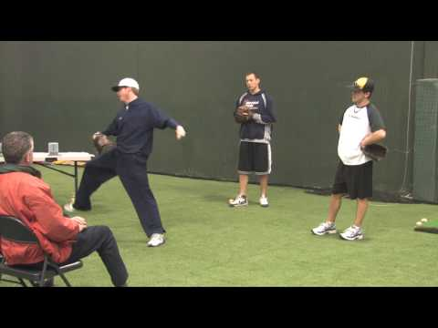 Pitching Drills for young baseball players