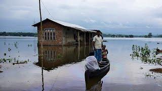 الفيضانات تهدد الملايين في الهند بسبب