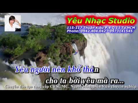 Karaoke (Beat) Khổ Vì Yêu Nàng - Nguyễn Hưng (Karaoke by Yêu Nhạc Studio)