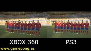 PES 2014 Xbox 360 Vs PS3 Comparison Video