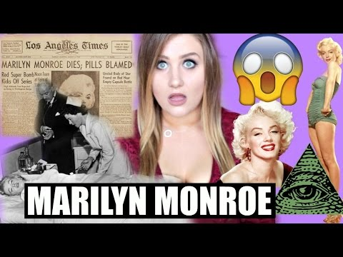 MARILYN  MONROE CONSPIRACY THEORIES! CELEBRITY CONSPIRACIES