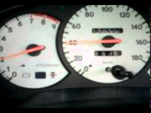 Разгон Toyota Celica с двигателем 3S-GE от 0-150 км/ч