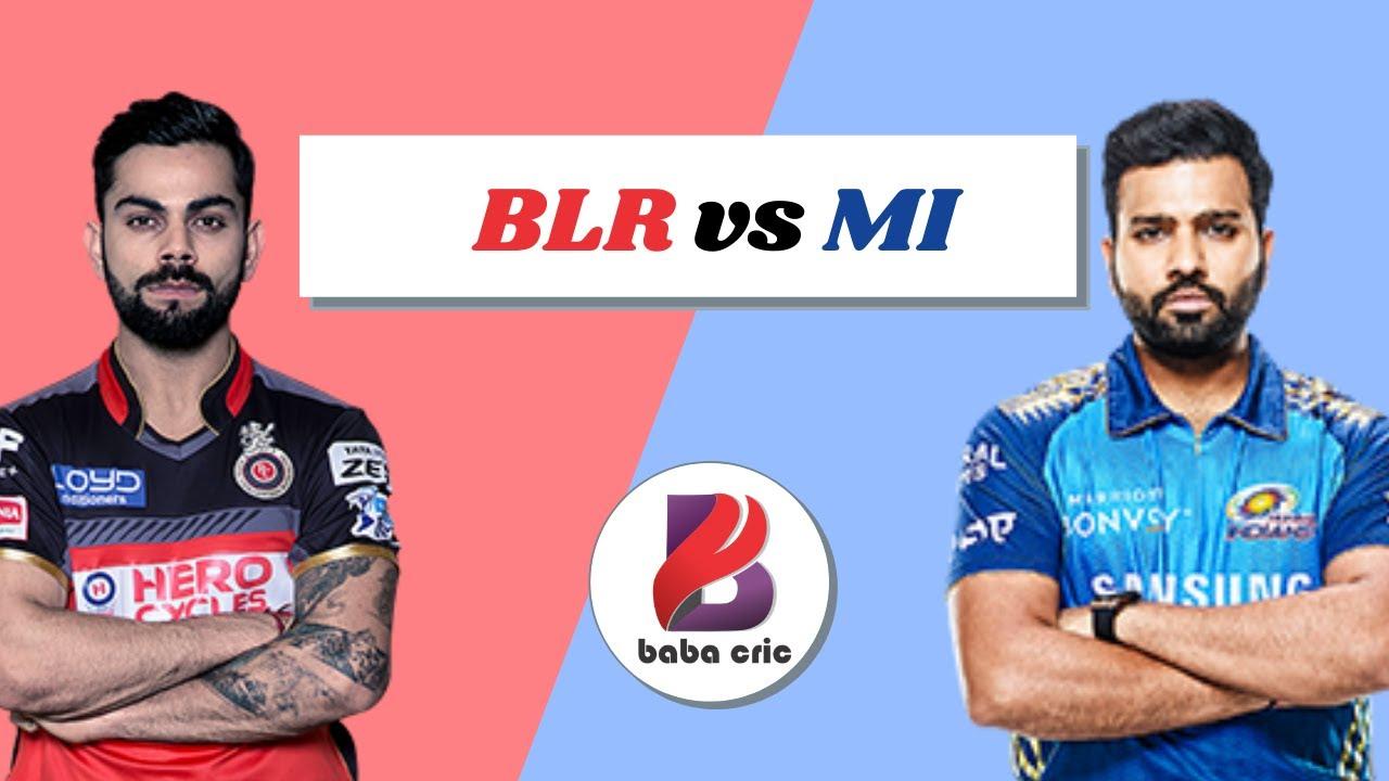 BLR vs MI Dream11 Prediction & Analysis 10th match