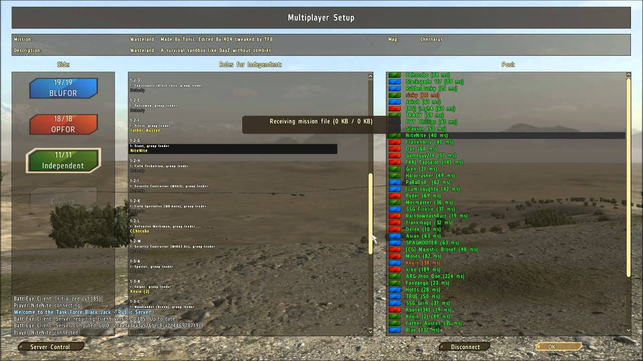how to play arma 2 wasteland