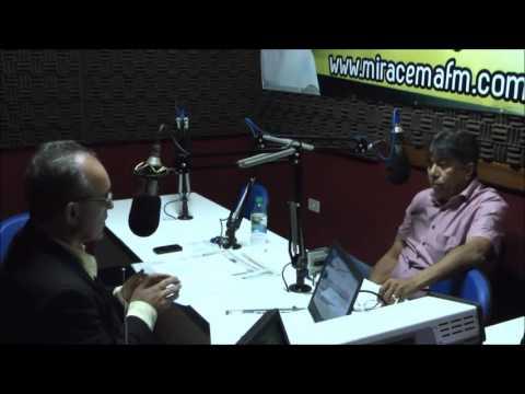 Manoel Silvino dá entrevista ao Programa Leal Júnior