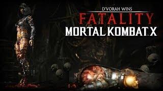 Mortal Kombat X - D'Vorah Fatality (E3 2014)