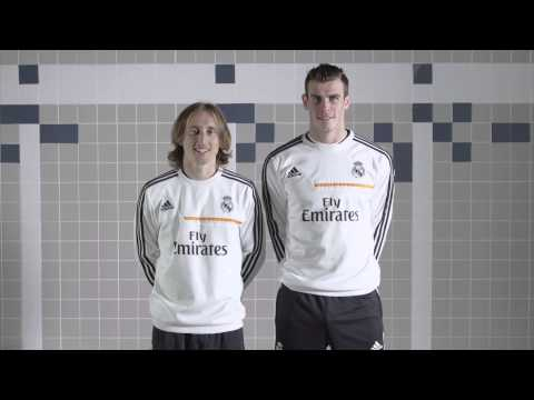 Fans For Real Madrid | Modric and Bale | Emirates