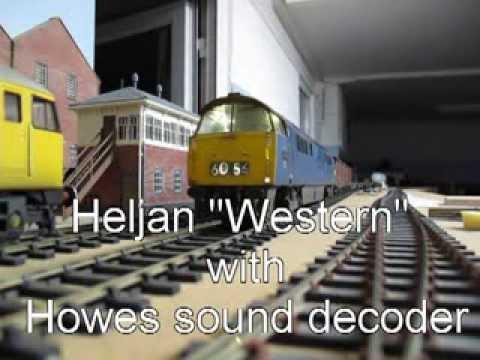 Heljan 7mm Western with Howes sound chip