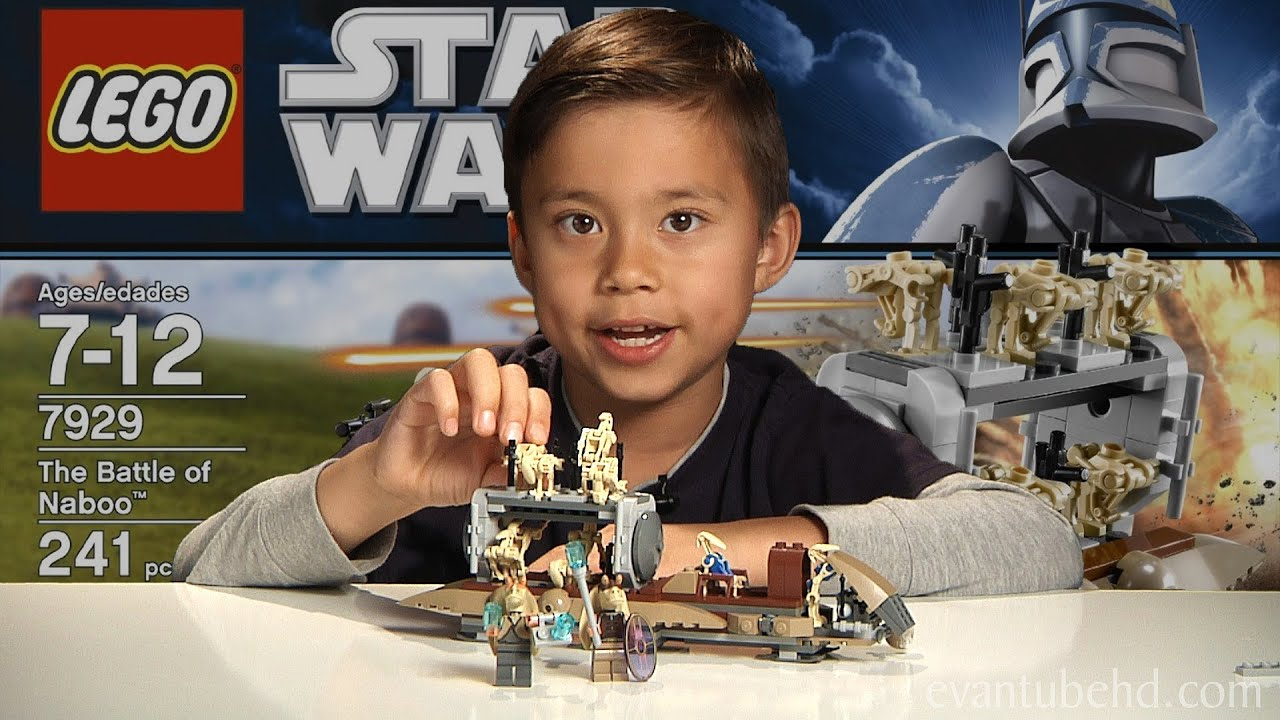 The Battle Of Naboo Lego Star Wars Set 7929 Time Lapse