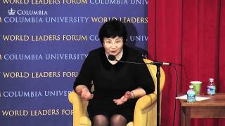 World Leaders Forum: President of Kyrgyzstan, Roza Otunbayeva