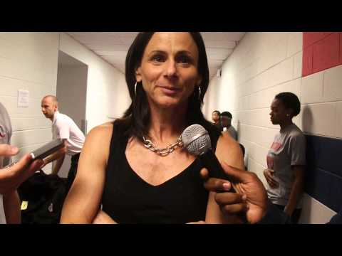 Mystics Post-game: Phoenix head coach Sandy Brondello