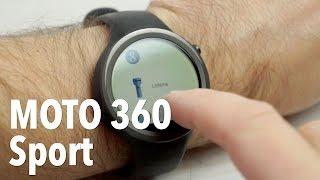 Moto 360 Sport, análisis