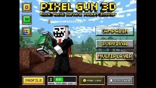 Pixel Gun 3D Unlimited Coins Glitch 2014 [IOS] [EASY