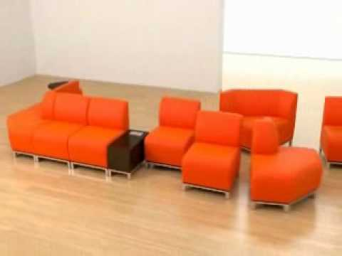 Swift Modular Lounge Seating From National Office Furniture YouTube