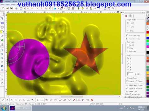 Hướng dẫn miễn phí JDpaint, Bài 7: Thực hành chuột Mickey