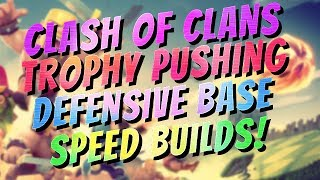 Clash Of Clans TH 10 Defense Trophy Base Designs Speed