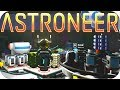 Astroneer Gameplay SURVIVING AT THE CORE RESEARCH UPDATE Let s Play Astroneer Alpha