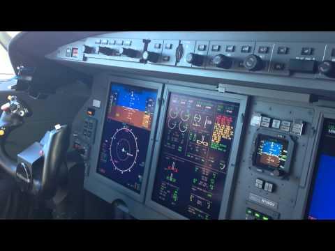 Gulfstream G150 APU Start and Preflight Configuration