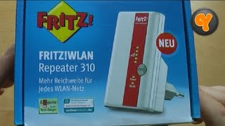 Unboxing/First Look: FRITZ! WLAN Repeater 310 (WiFi