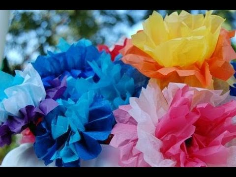 009 how to make flower from tissue paper jk arts beautiful how to make tissue paper flowers creative mightylinksfo