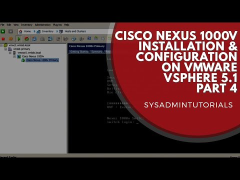 Cisco Nexus 1000v Install and Configure within VMware vSphere 5.1 - Part 4
