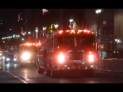 LAFD Light Force 27 Responding