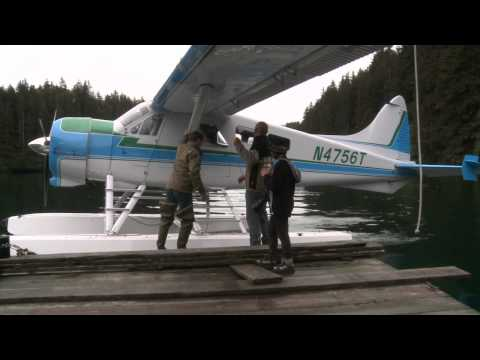 Beaver aircraft approach-Alaska like...