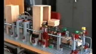 Maqueta De Sistema Clasificador De Piezas (PLC OMRON