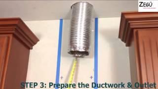 7 bước đơn giản lắp đặt máy hút mùi hiện đại