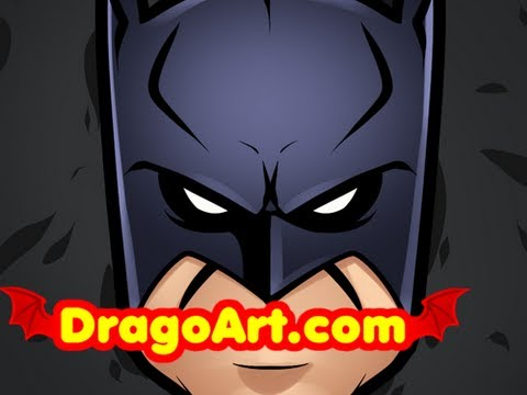 How to Draw Batman Easy, Batman, Step by Step